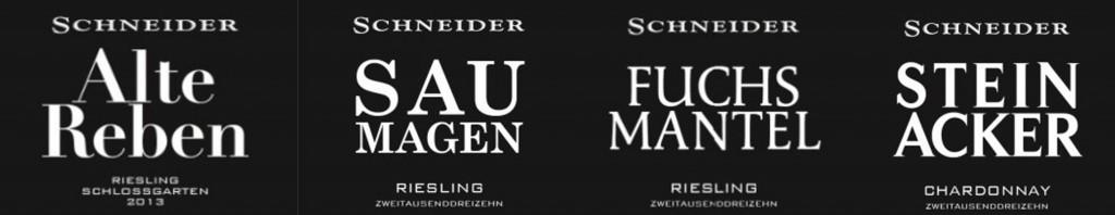 Markus Schneider Neue Weine